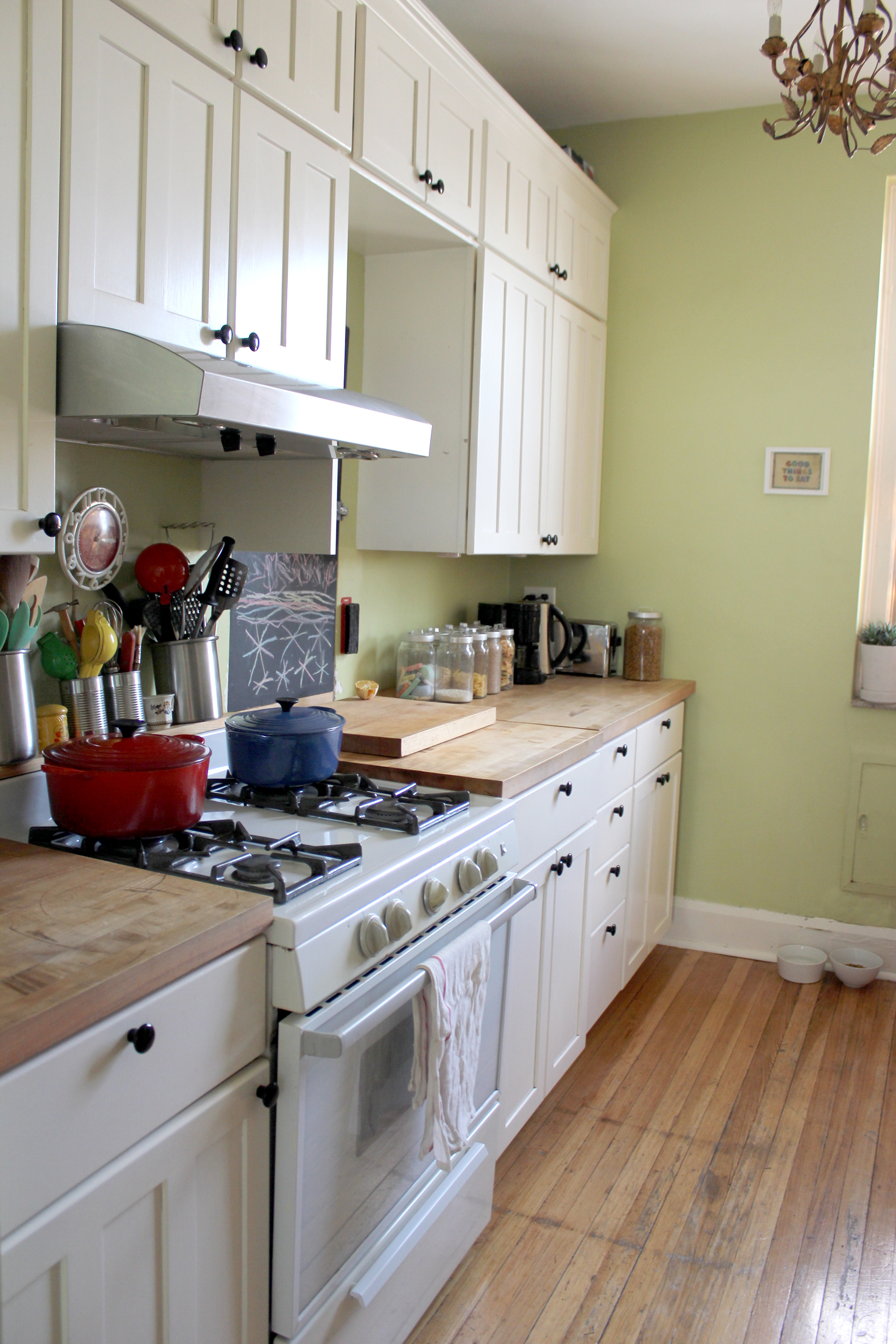 Our Jackson Heights Kitchen Was A Typical, Small, New York City Galley  Kitchen. Shane And I Designed And (gut) Renovated It Ourselves In 2007.