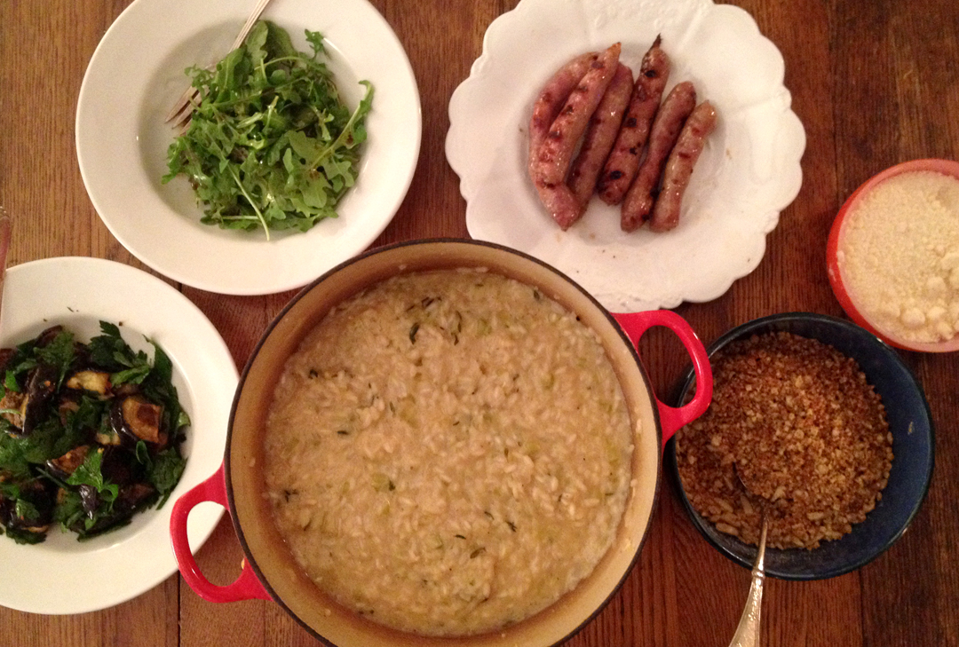 Risotto_Eggplant_Sausages_IMG_2259