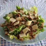Escarole salad.